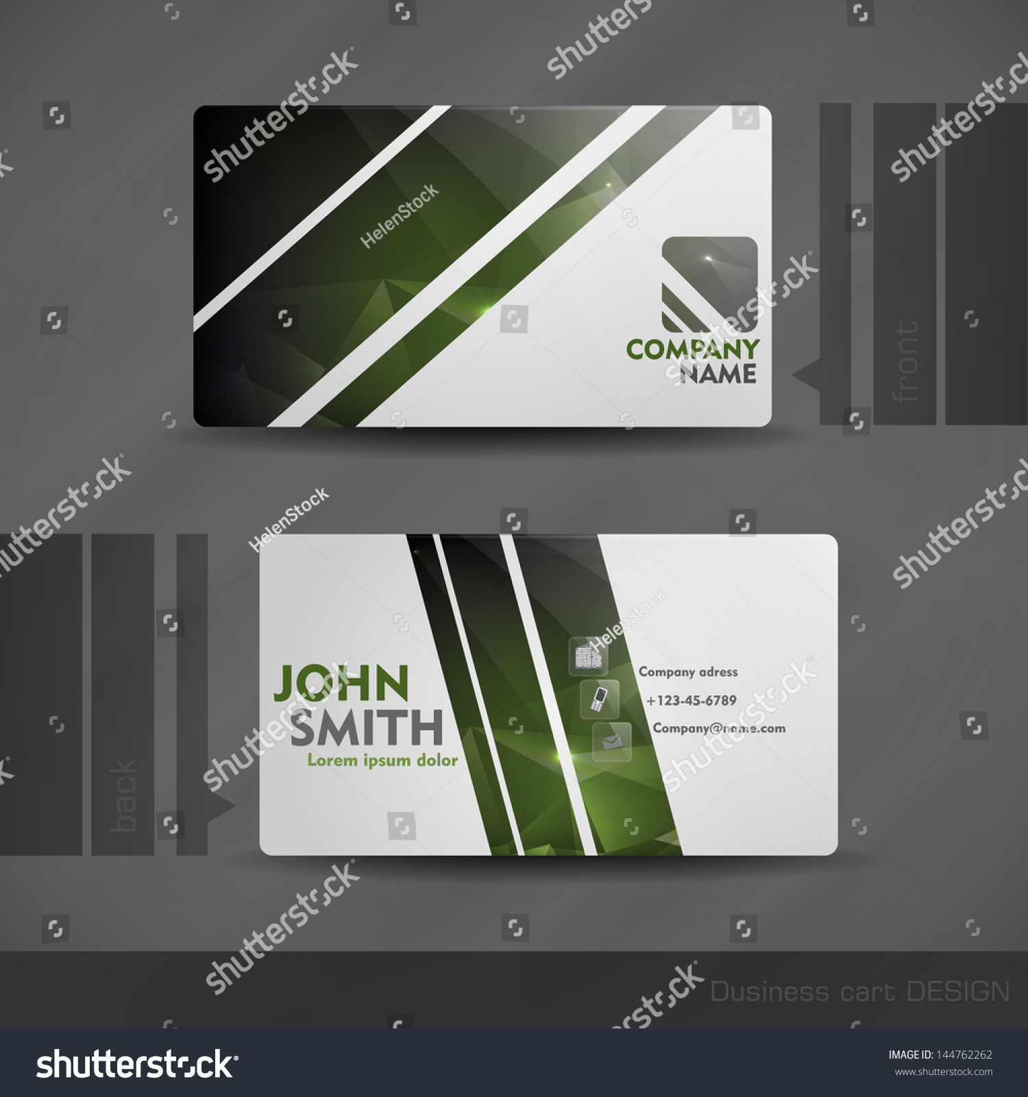 business card template eps 28 images business card template