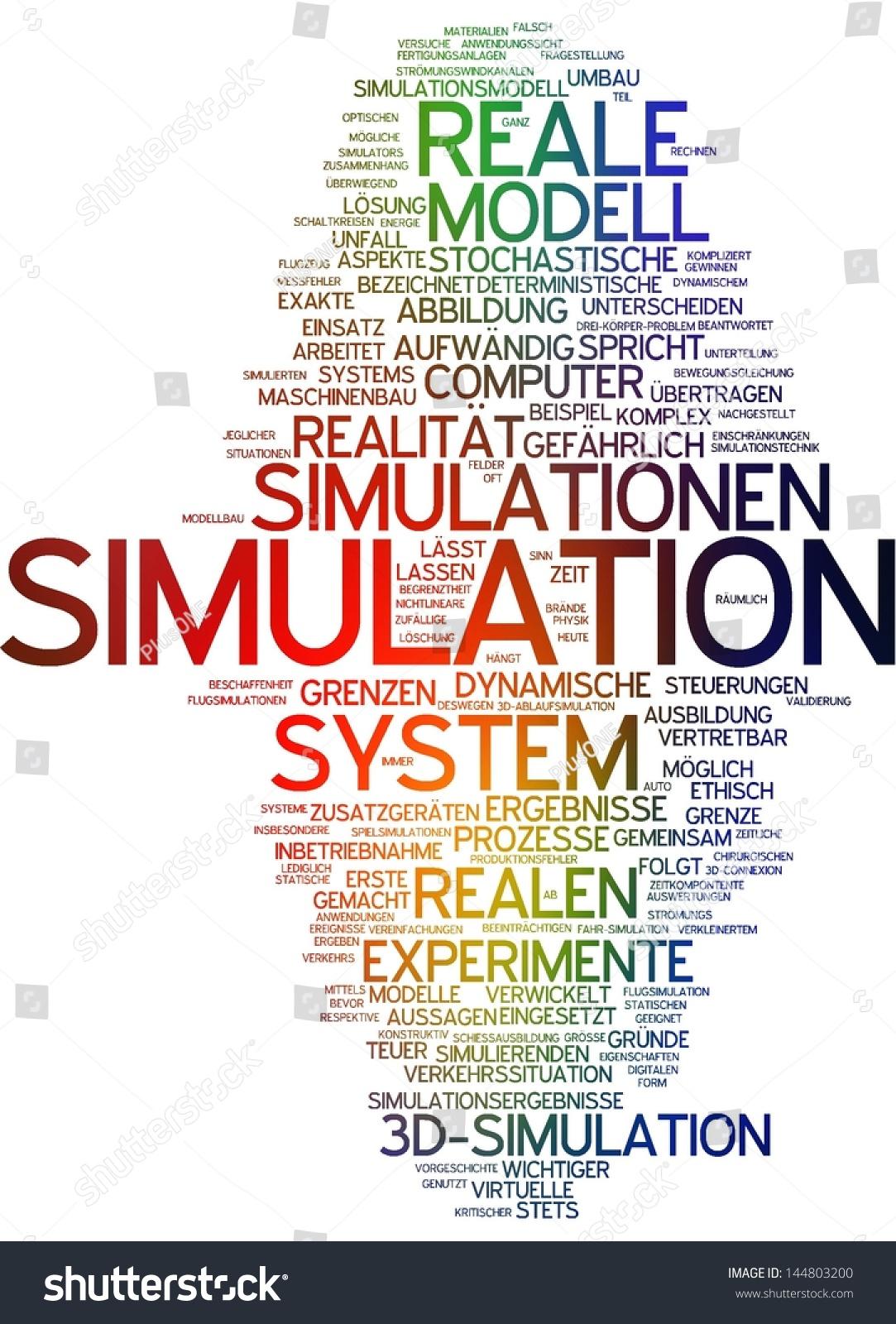 Word Cloud Simulation Stock Illustration 144803200 - Shutterstock