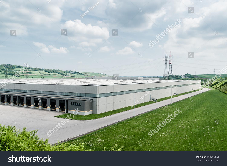 Modern Distribution Center Outside Stock Photo 144969826 ...