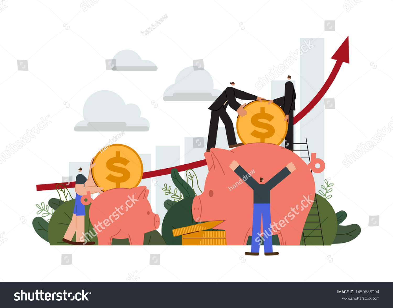 stock-vector-saving-account-little-peopl