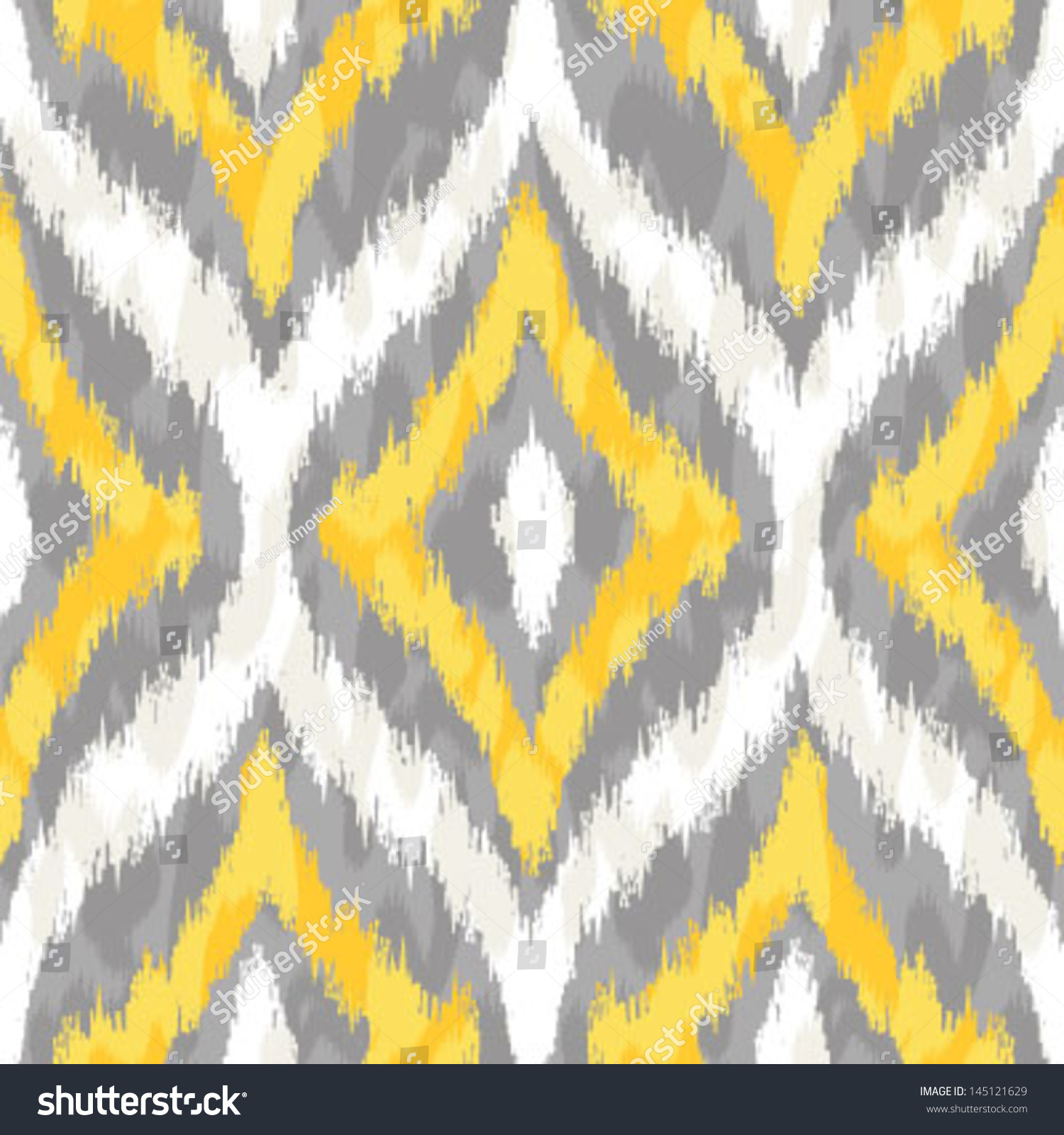 Seamless Yellow Grey I...