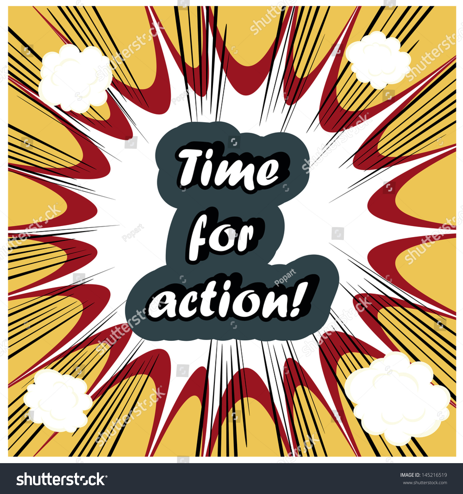 Time for Action Clip Art