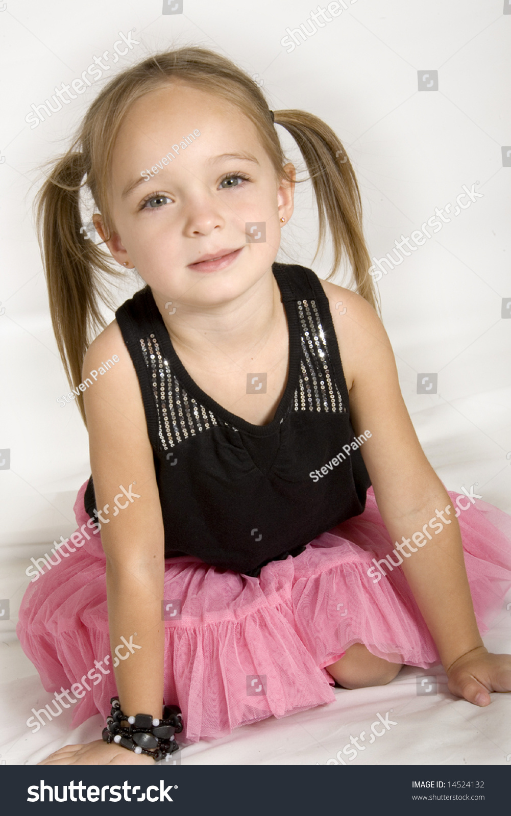 Cute Stock Photography: Very Cute Little Girl Stock Photo 14524132