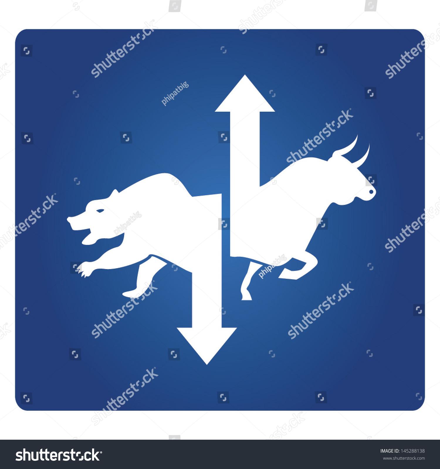 Stock Market Symbol Stock Vector Royalty Free 145288138 Shutterstock