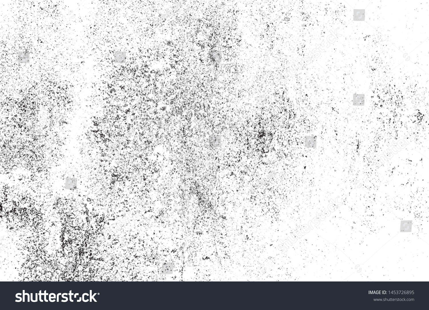 Grunge textures set. Distressed Effect. Grunge Background. Vector textured effect. Vector illustration.  #1453726895