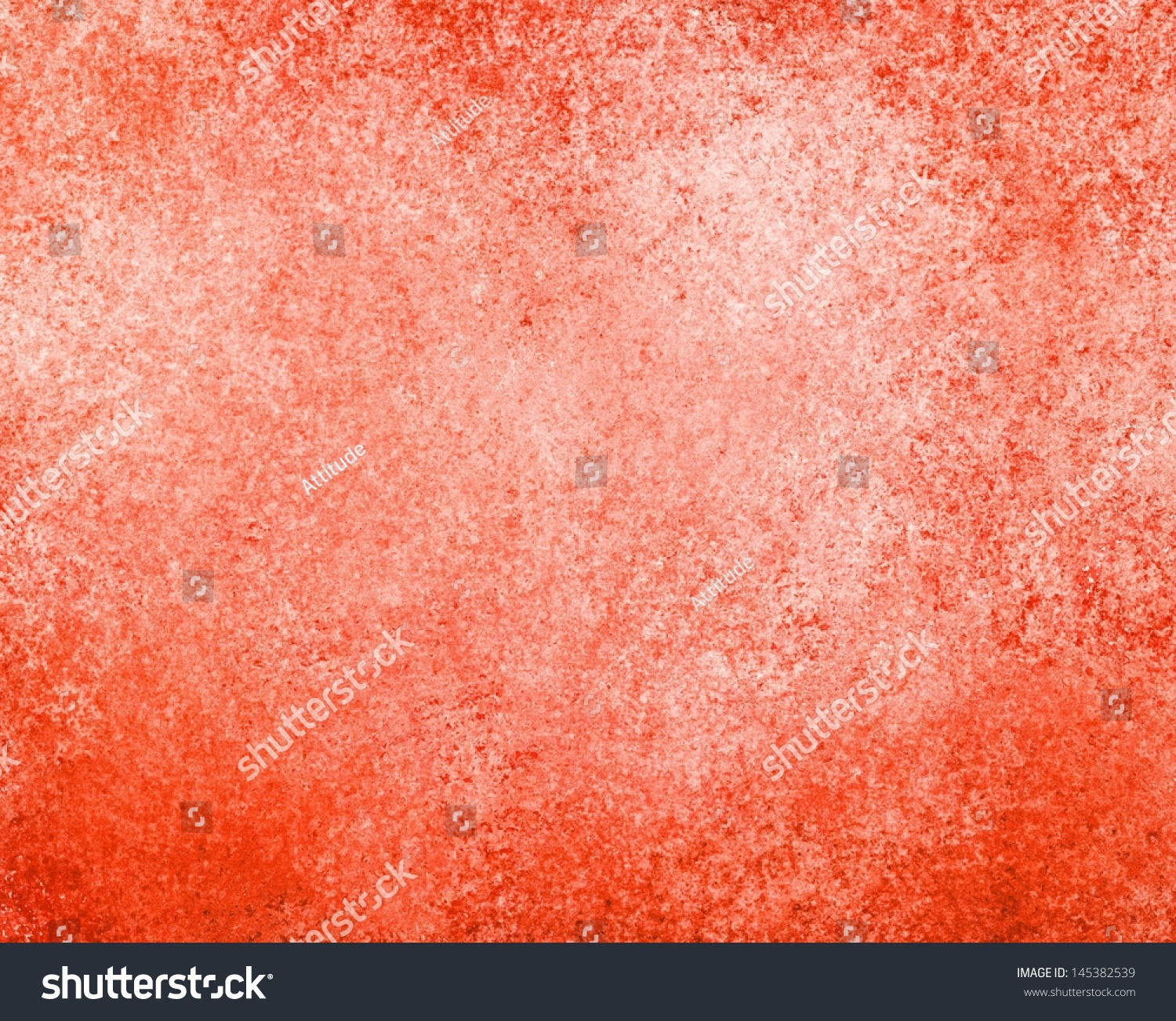 Orange Sponge Paint Wall