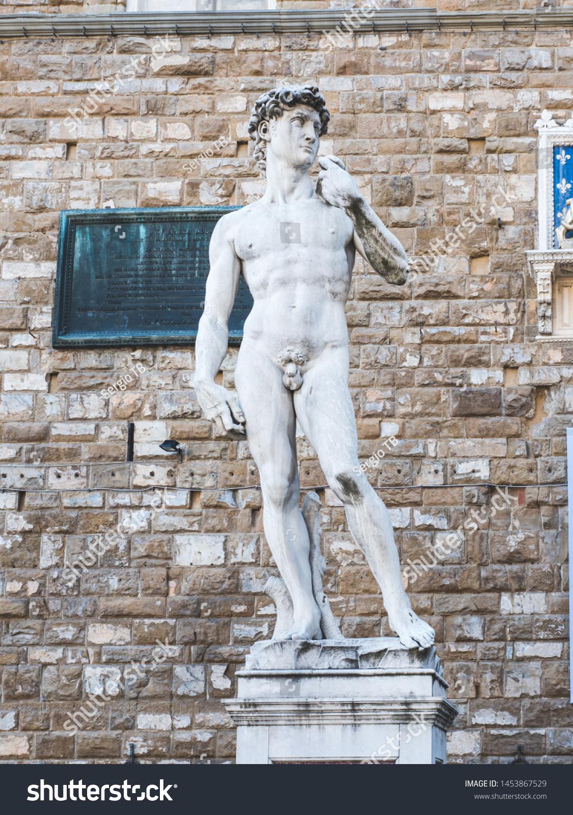 12.5 Inch Cold Cast Resin Renaissance Statue of Michelangelo/'s David