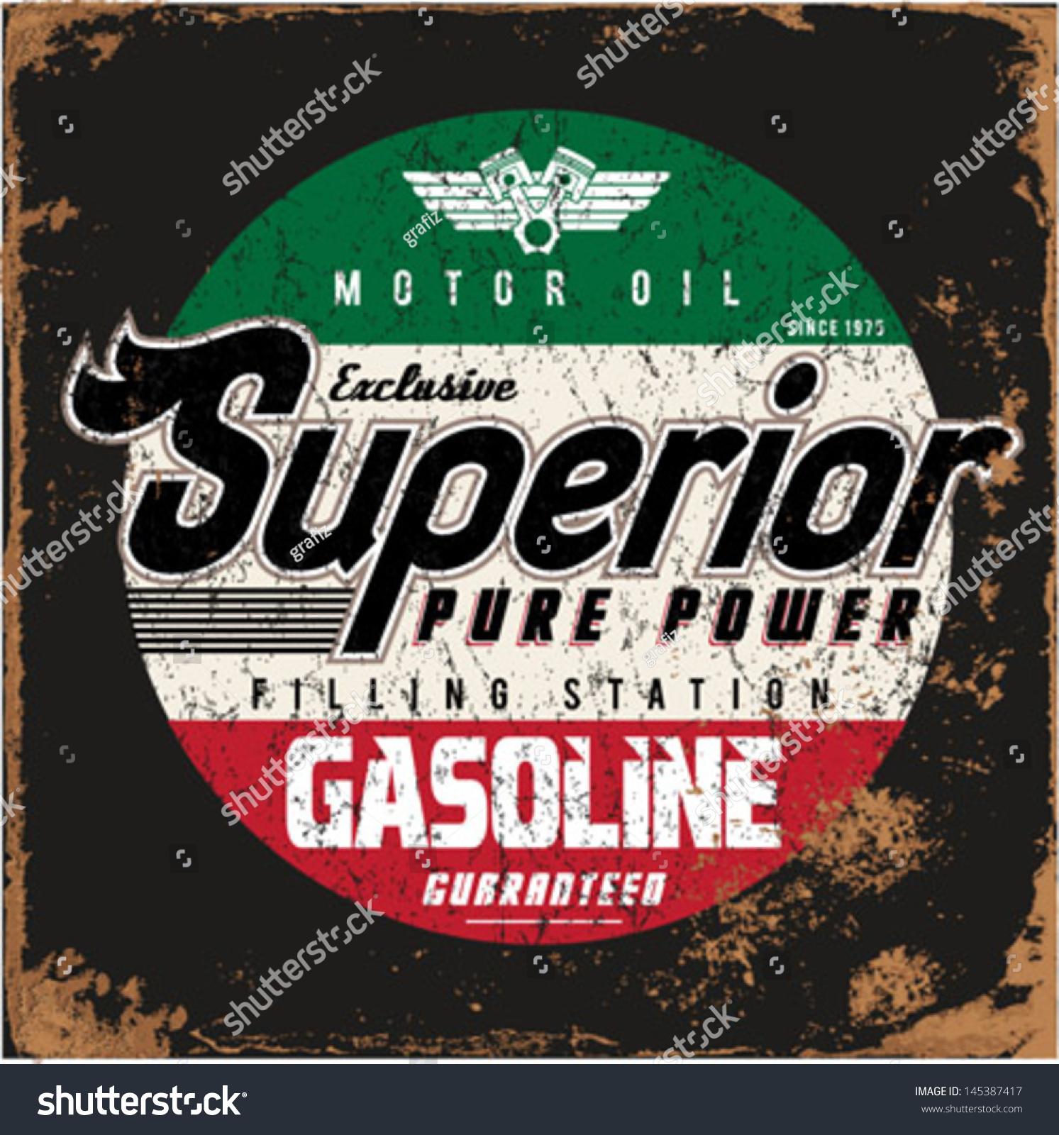 Vintage Gas Oil 37