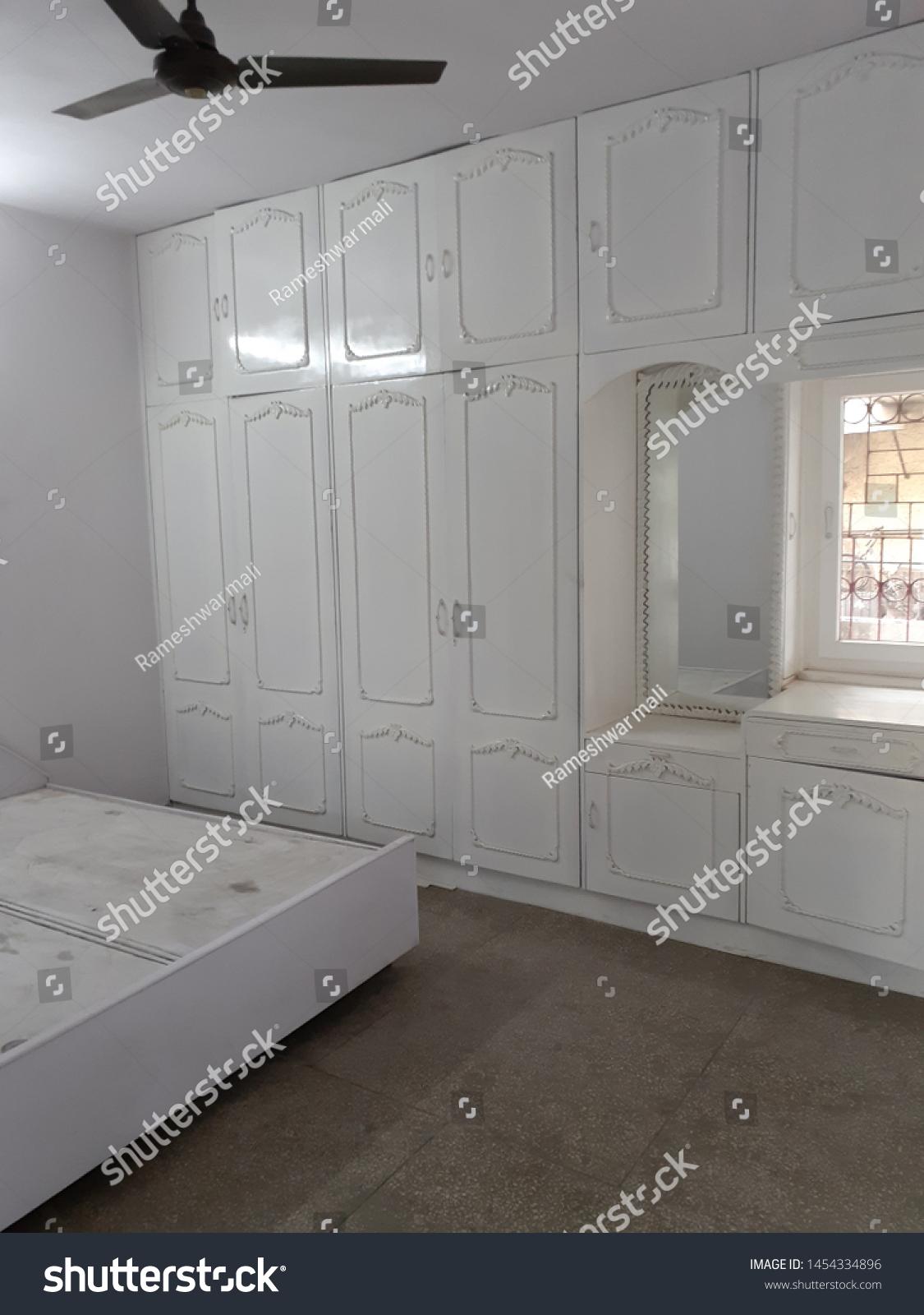 Wooden Almirah Indian Bedroom Stock Photo Edit Now 1454334896