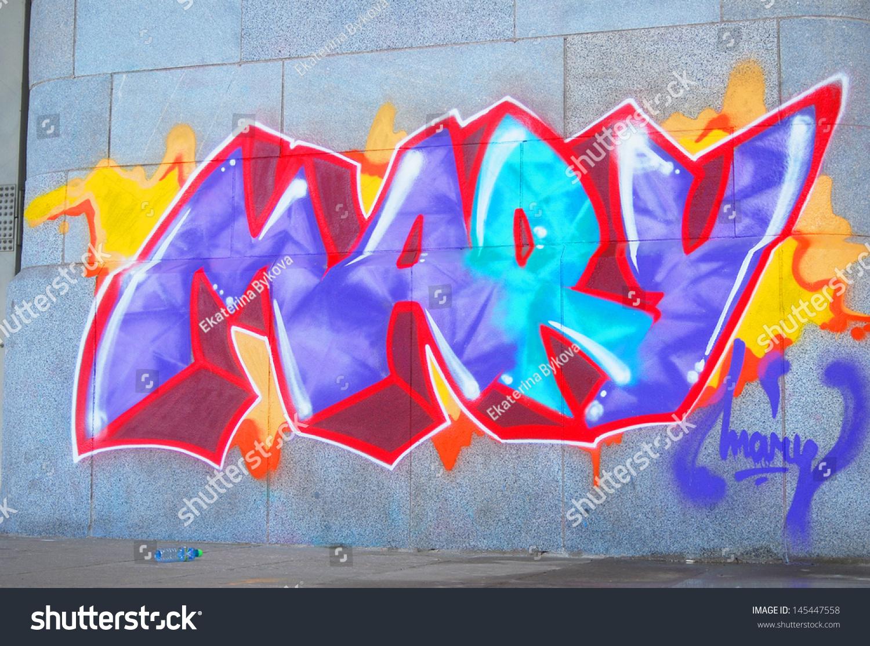 graffiti may unfinished by icebabiizx on DeviantArt