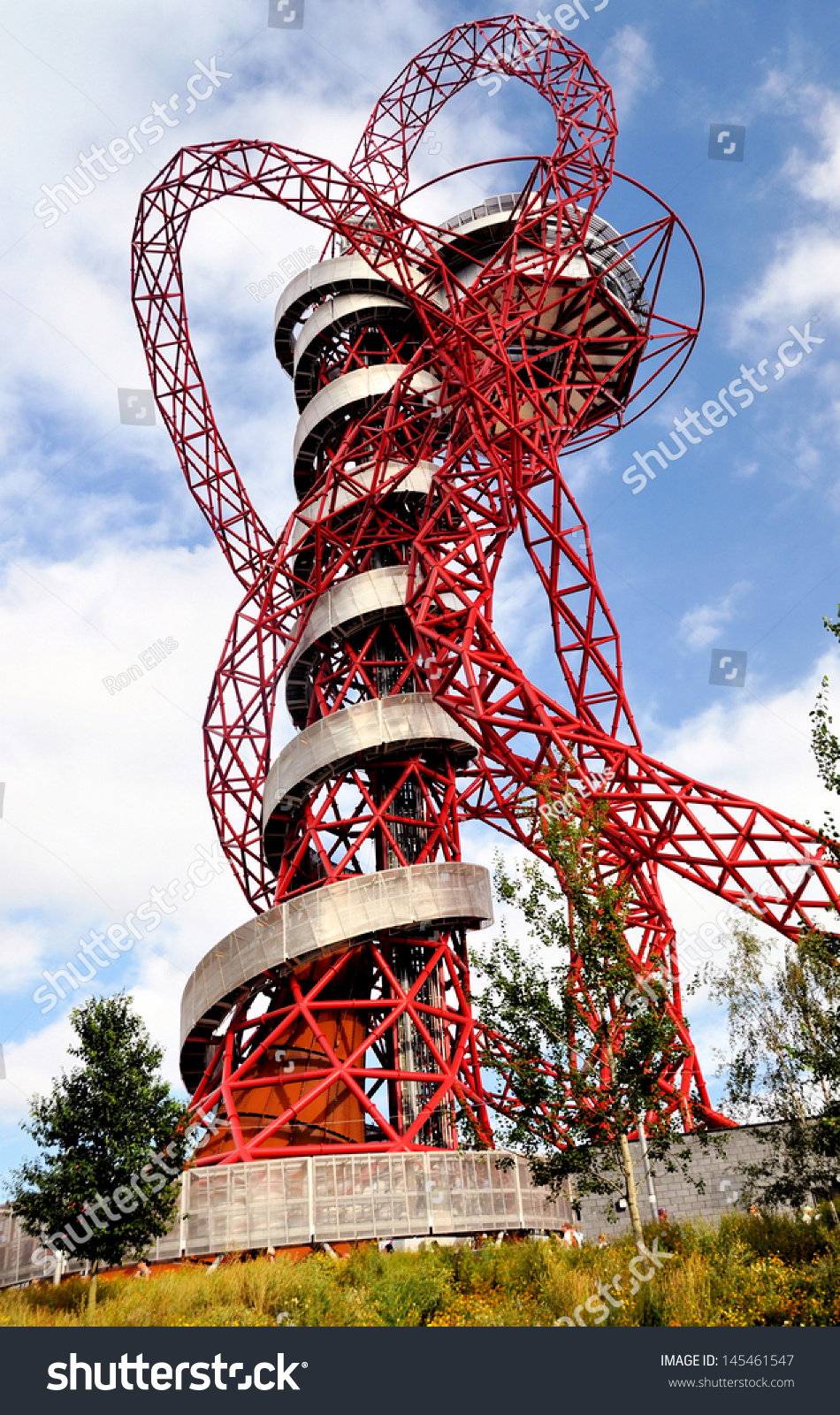 London september 4 arcelormittal orbit symbolic stock photo the arcelormittal orbit is a symbolic structure of the olympic games buycottarizona