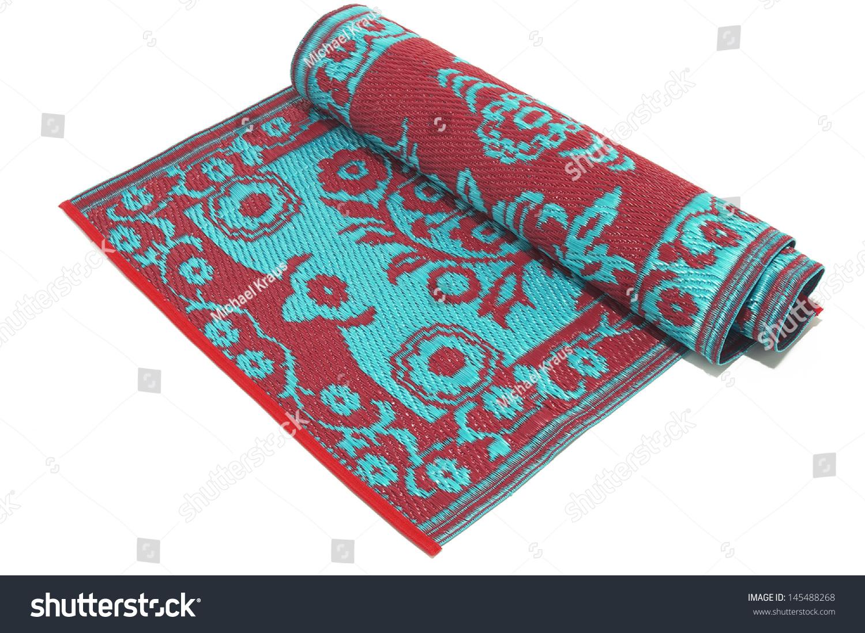 Rolled Oriental Rug Stock Photo 145488268 Shutterstock