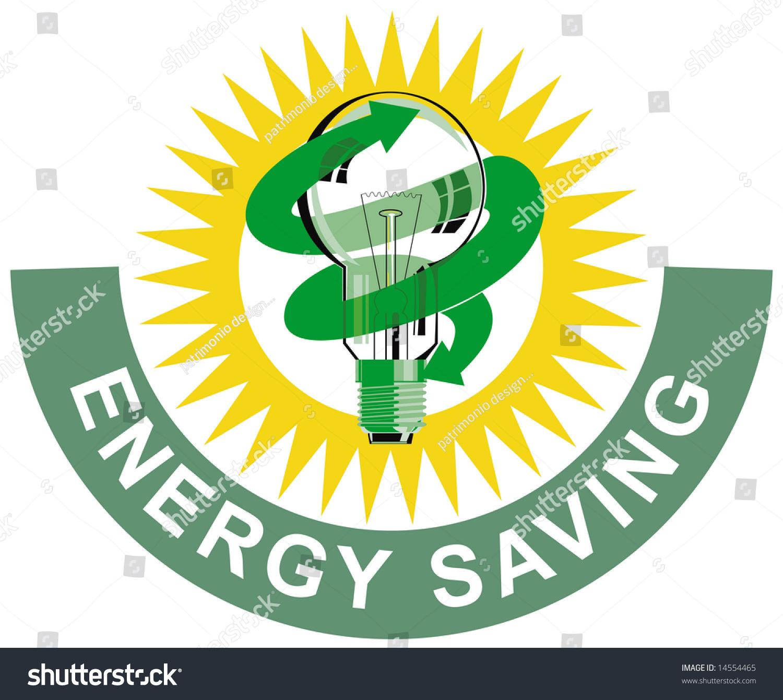 Energy Saving Symbol Stock Illustration 14554465 ...
