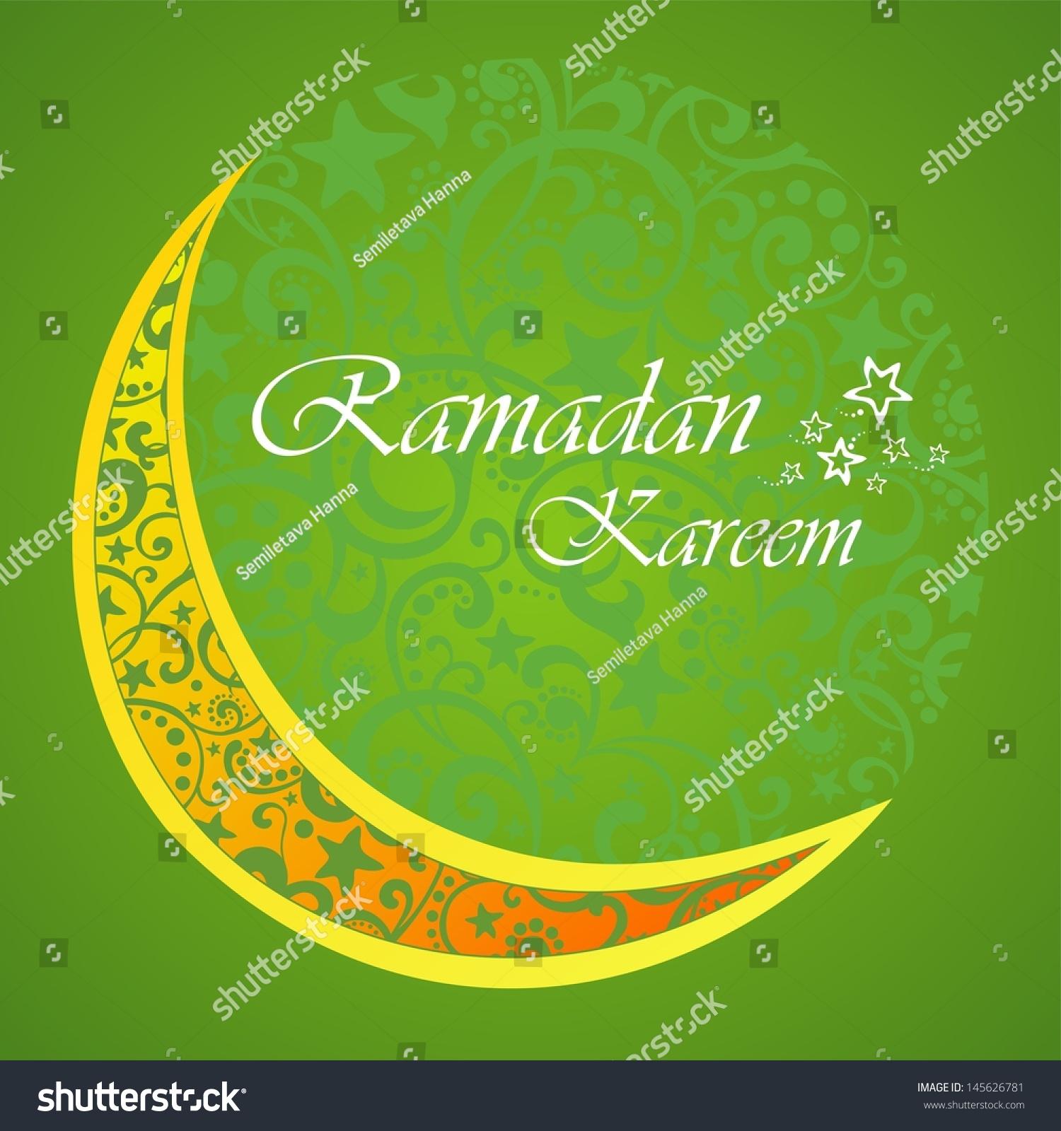 Ramadan greetings arabic script islamic greeting stock illustration ramadan greetings in arabic script an islamic greeting card for holy month of ramadan kareem kristyandbryce Images