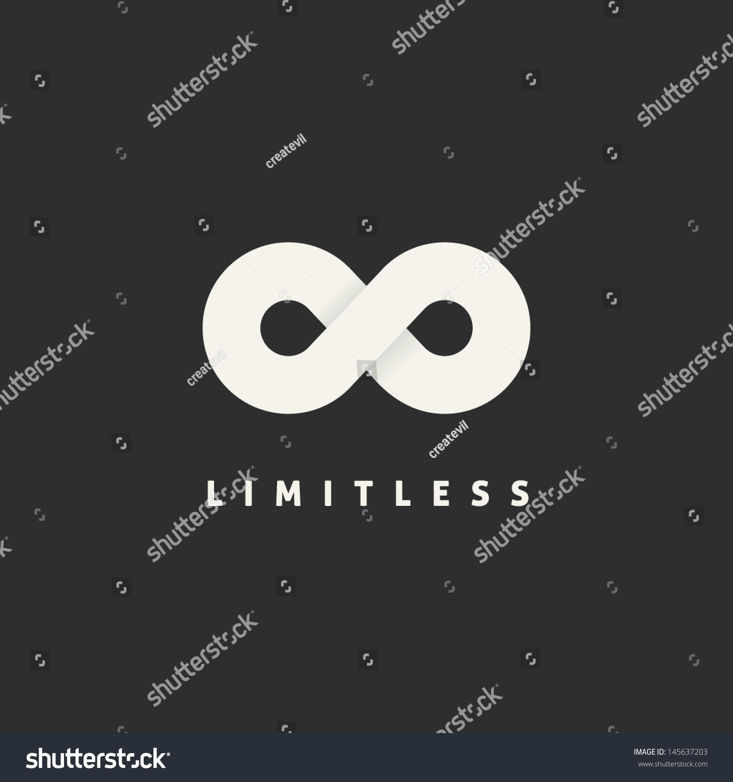 Limitless abstract vector logo template infinity stock vector limitless abstract vector logo template infinity symbol concept endless sign eternity icon with biocorpaavc Gallery