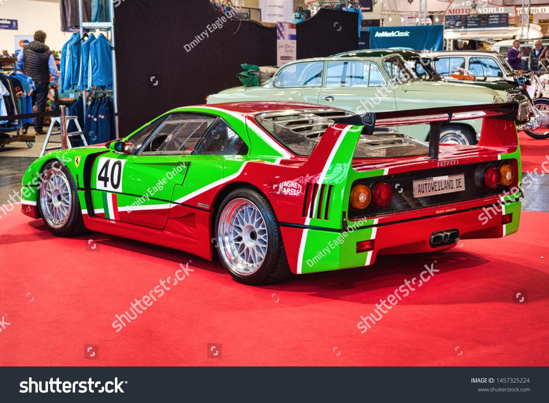 Friedrichshafen May 2019 Red Green Ferrari Stock Photo Edit Now 1457325224