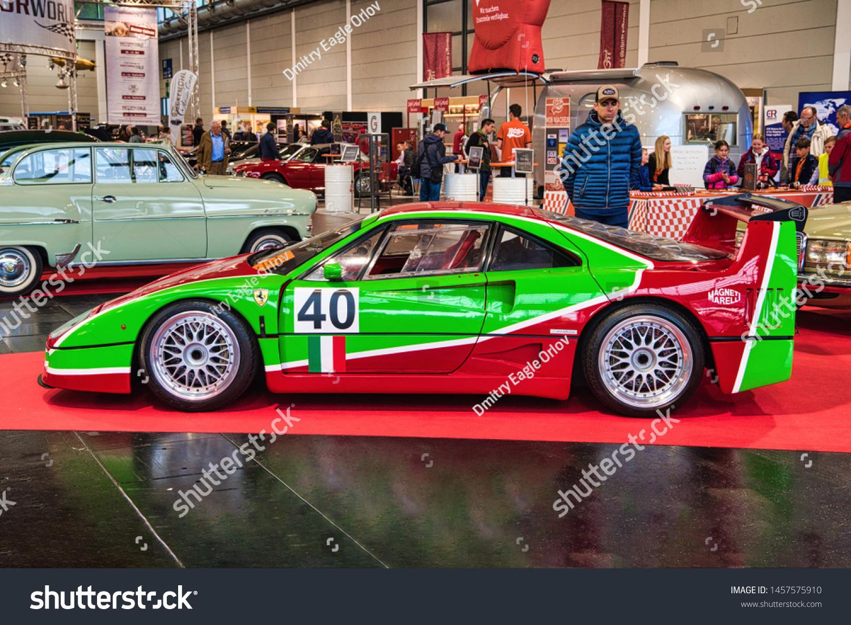 Friedrichshafen May 2019 Red Green Ferrari Stock Photo Edit Now 1457575910