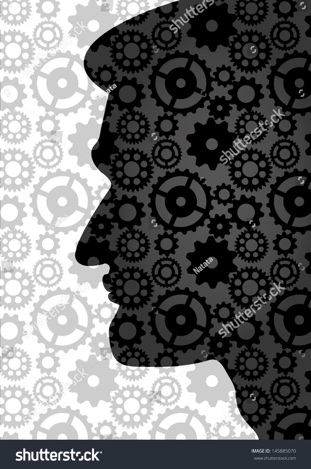 Engineer Smart Person Education Symbol Science Stock Vector Royalty