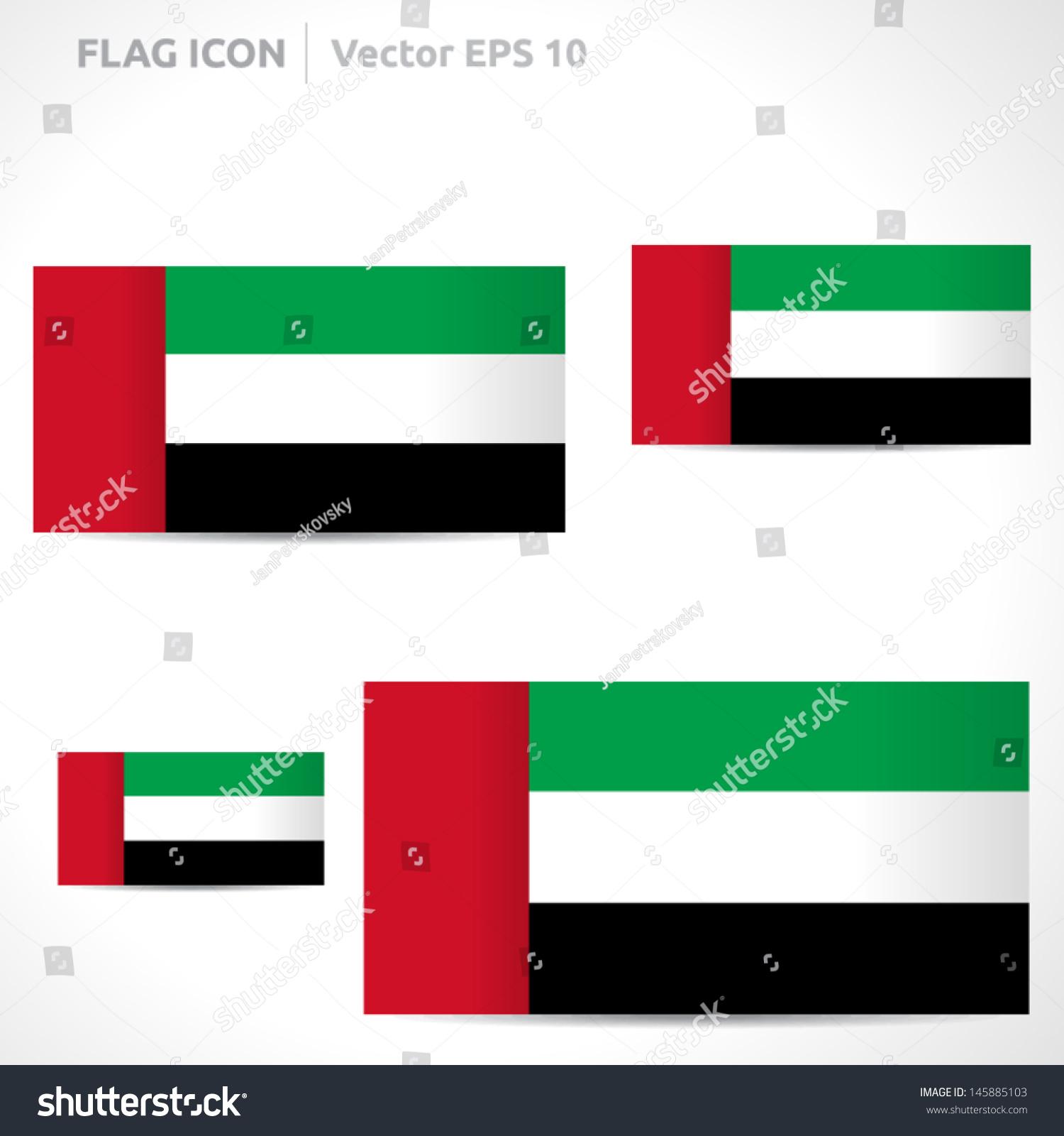 United Arab Emirates Flag Template | Vector Symbol Design ... - photo#33