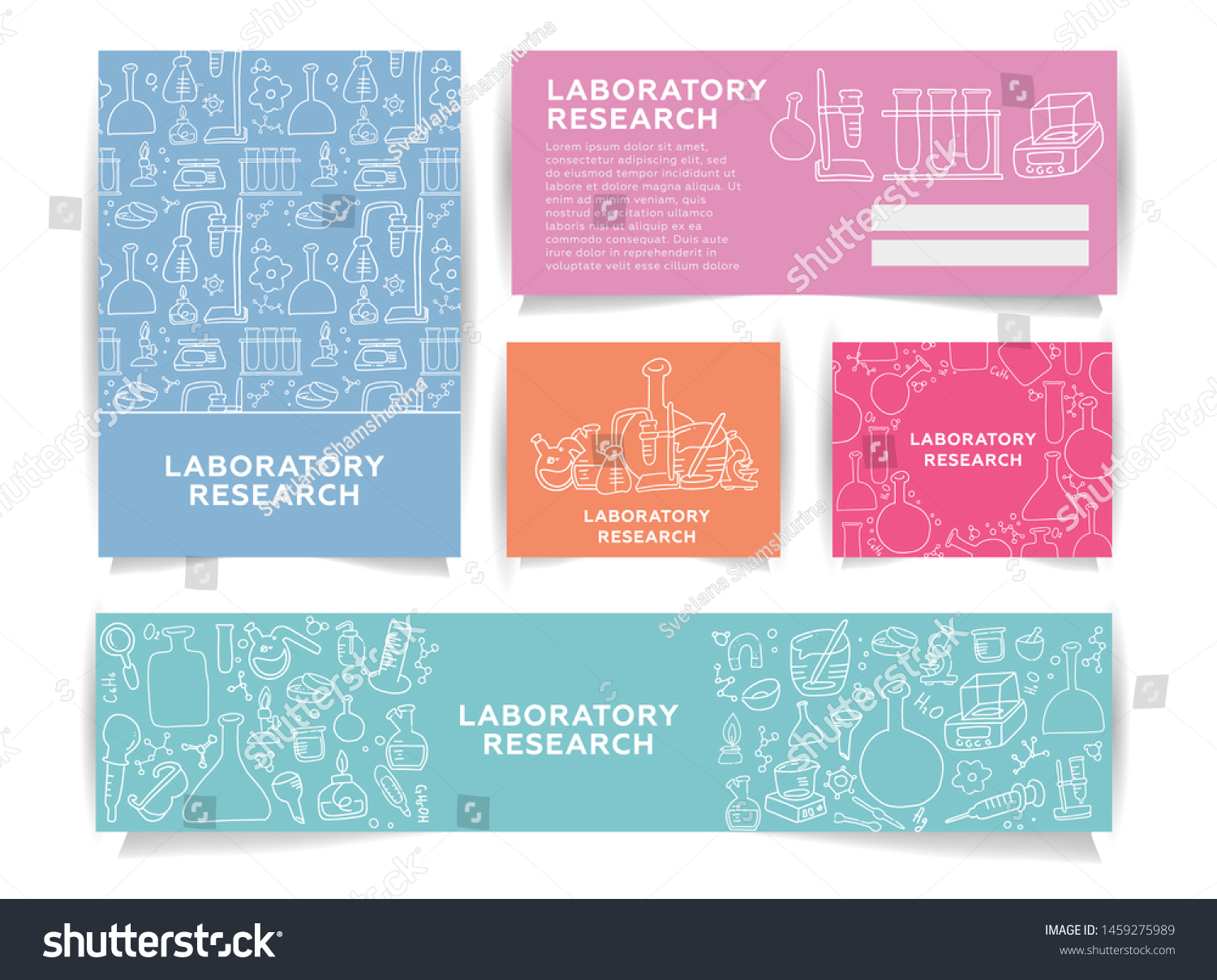 Information Cards Template from image.shutterstock.com