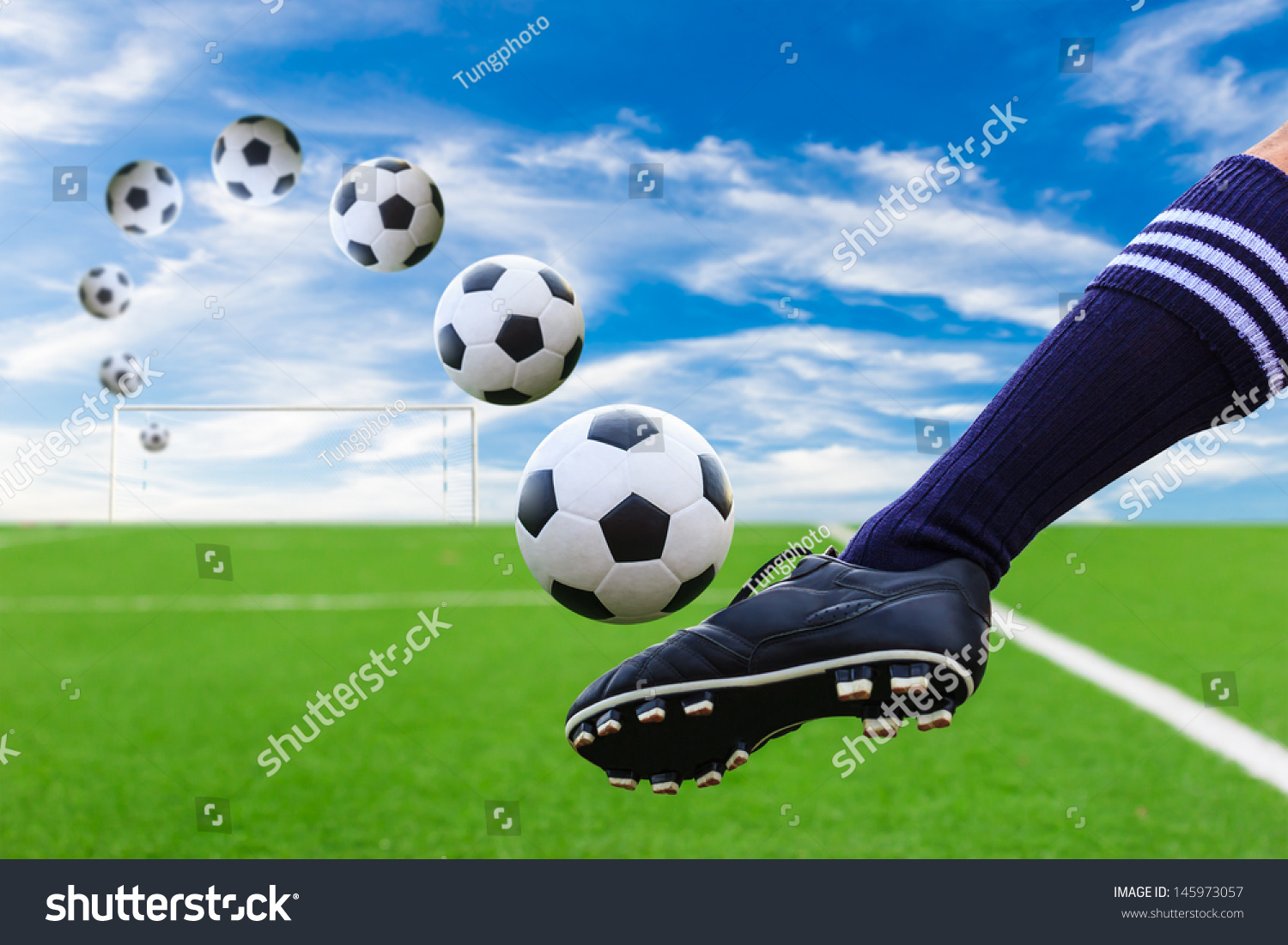 essay on how to kick a soccer ball Just kicking a ball relates to the physics of motion, the physic of friction, and even  aerodynamics so by learning the physics behind soccer, any player can.