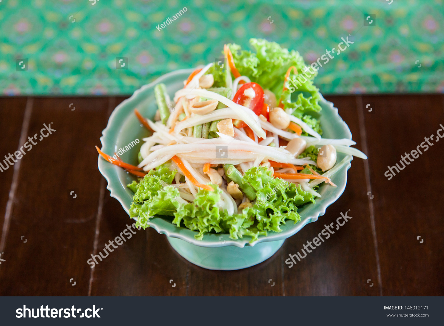 Authentic thai cuisine decoration flavour stock photo for Authentic thai cuisine