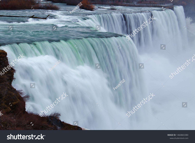 Niagara Falls New York Side Stock Photo Edit Now 1460865380
