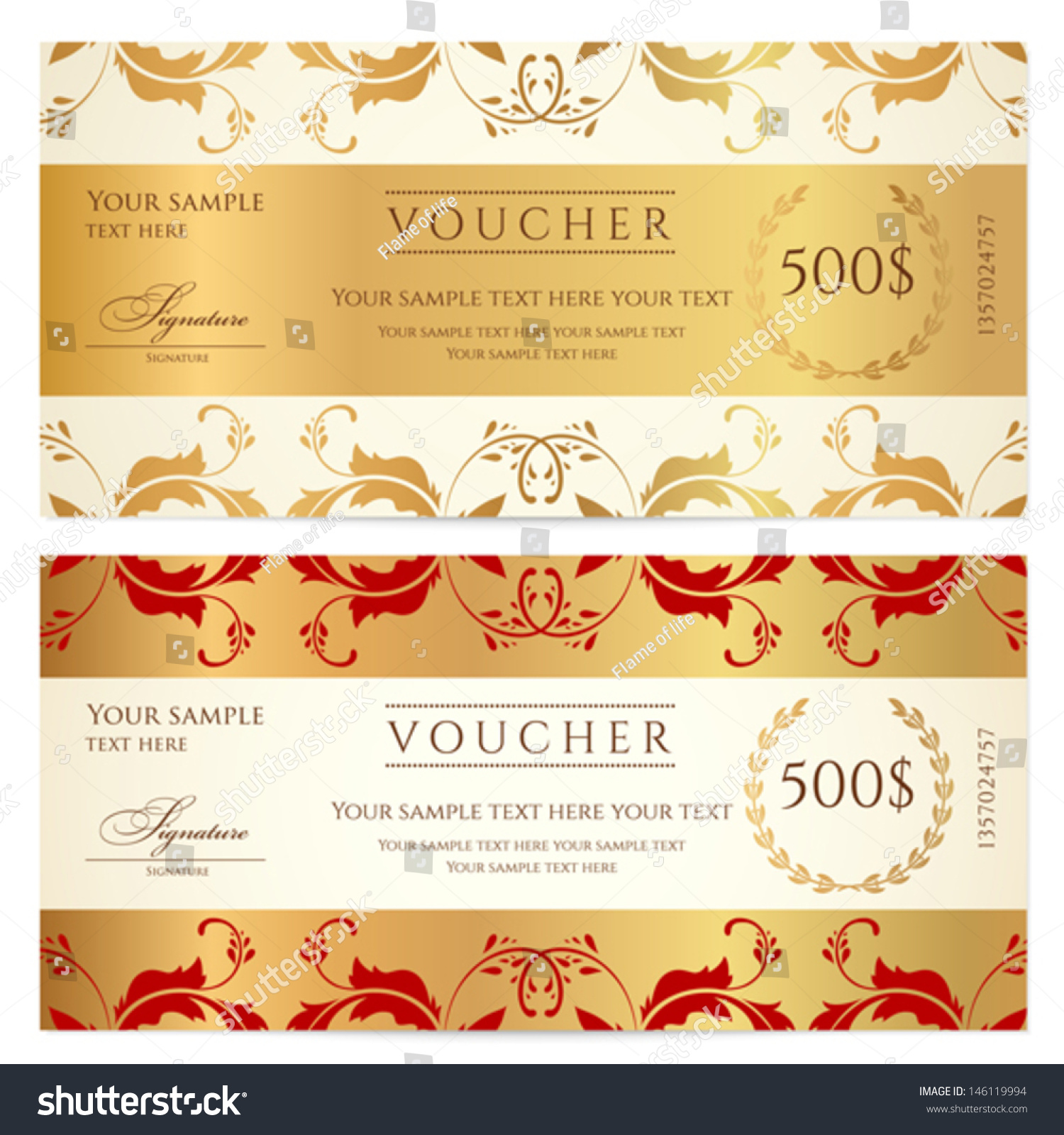 Vector gift certificate and coupon templates deals sent to phone download free gift certificate word template that you can use to make awesome gift cards with ms office 2010 and 2013 yelopaper Image collections