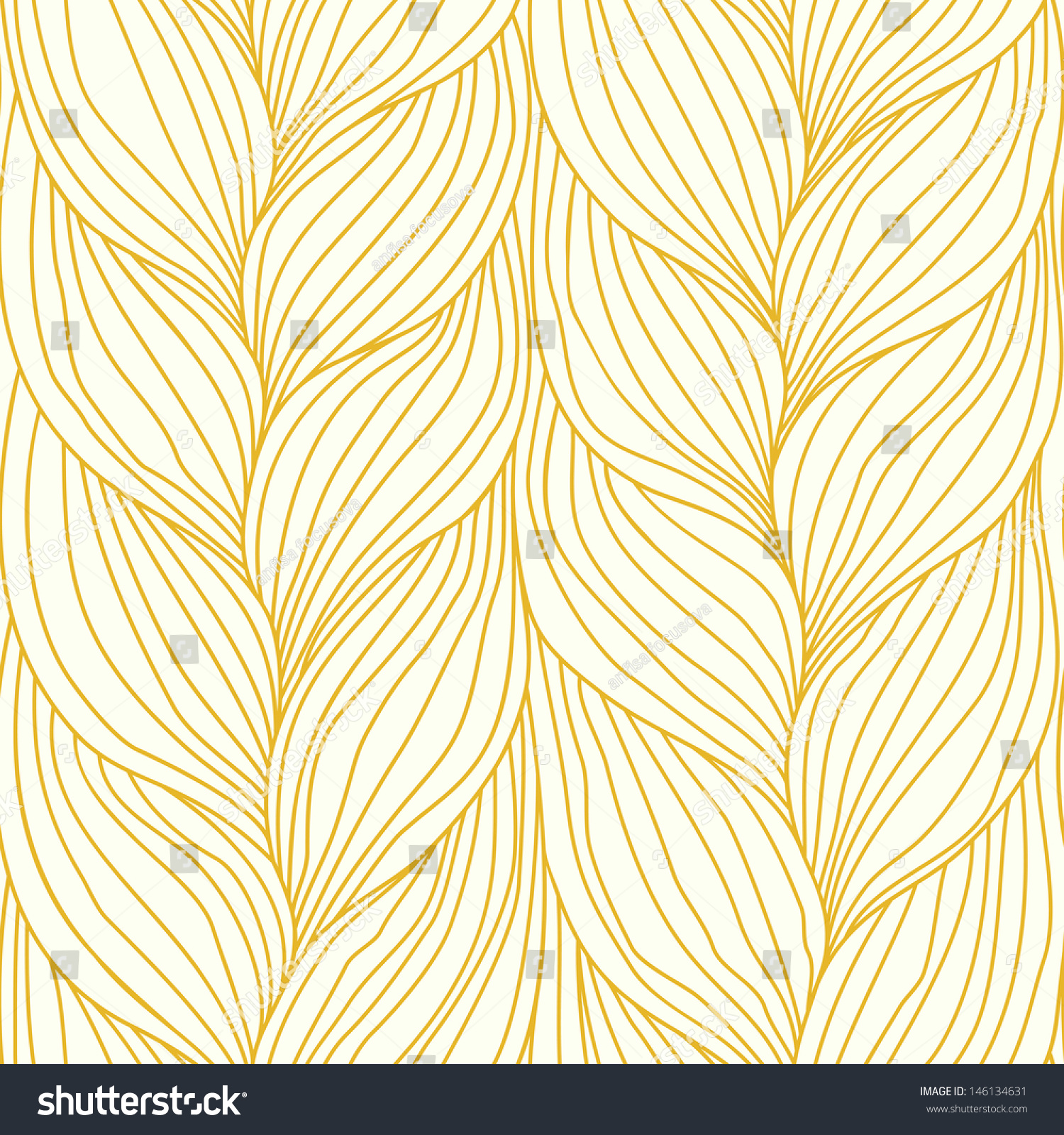 Seamless Pattern Hairs...