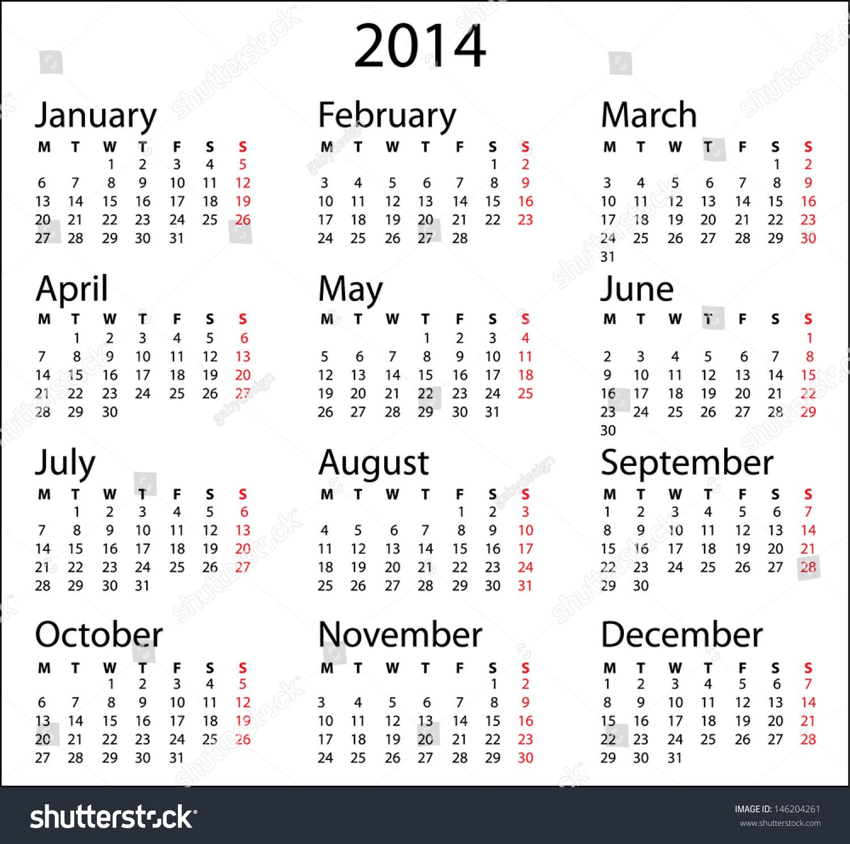 20 dice black and white template editorial calendar