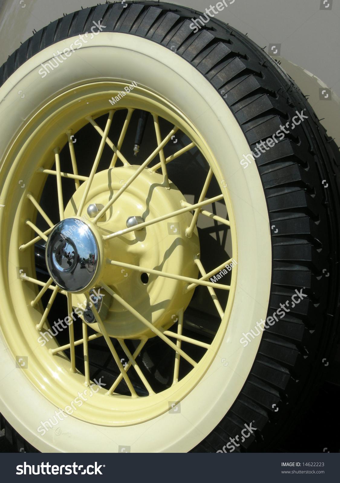 Stock Photo Vintage Car Wheel Stock Photo 14622223 - Shutterstock