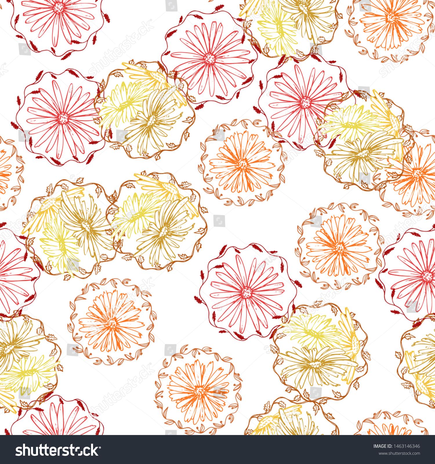 Retro Collection Fabric Wallpapercolorful Color Artsy Royalty