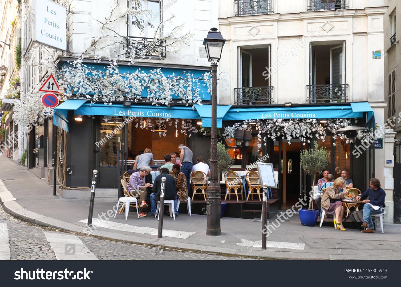Paris Francejuly 27 2019 Typical Parisian Stock Photo Edit Now 1463305943