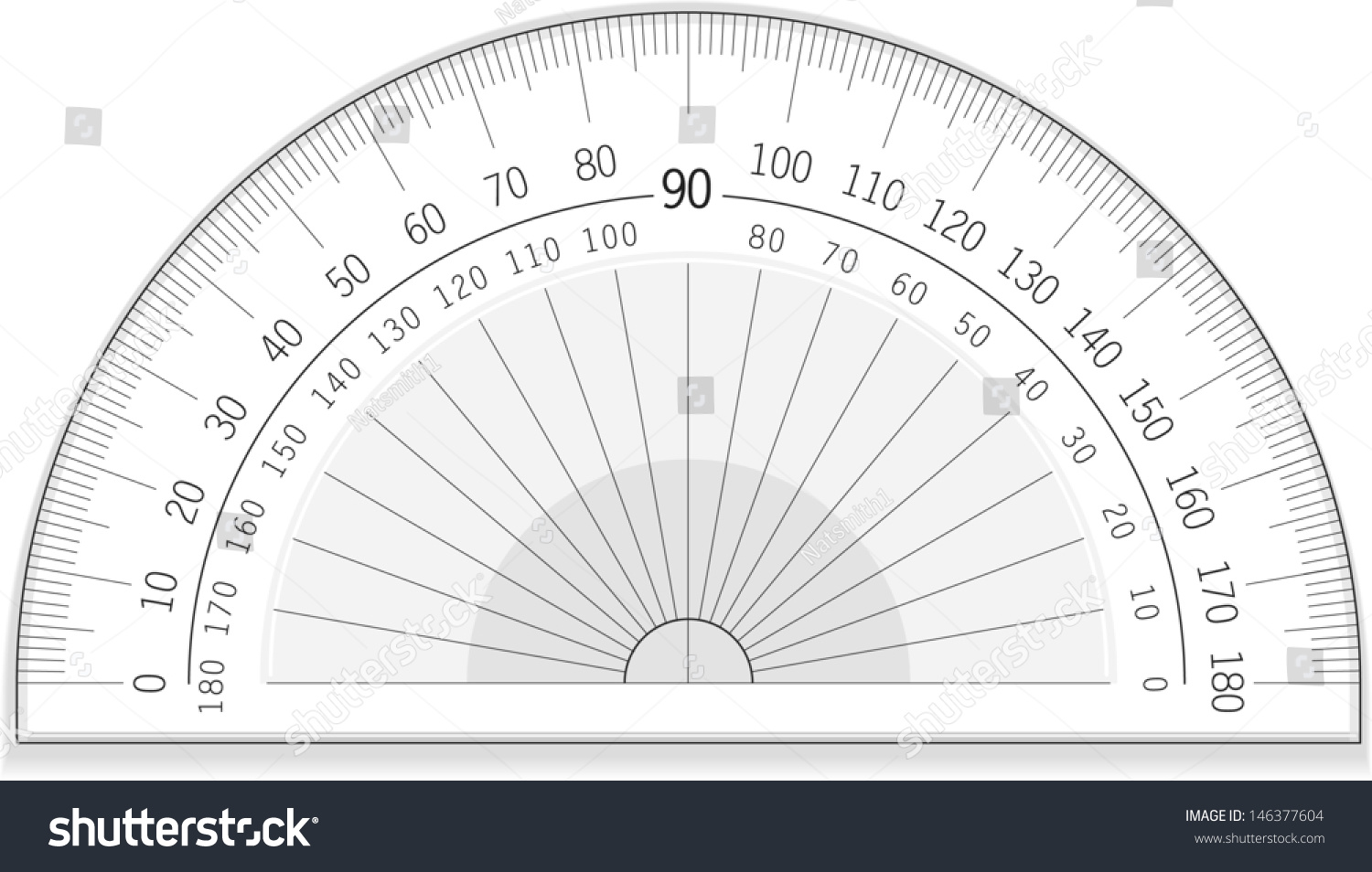 worksheet Protractor Image vector drawing accurate protractorprotractorgreat useable file of an protractor