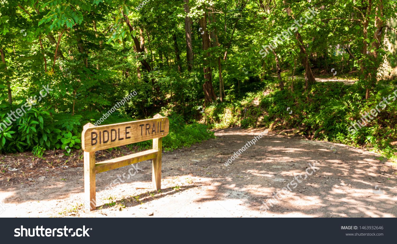 Pittsburgh Pennsylvania Usa 7252019 Biddle Trail Stock Photo Edit Now 1463932646