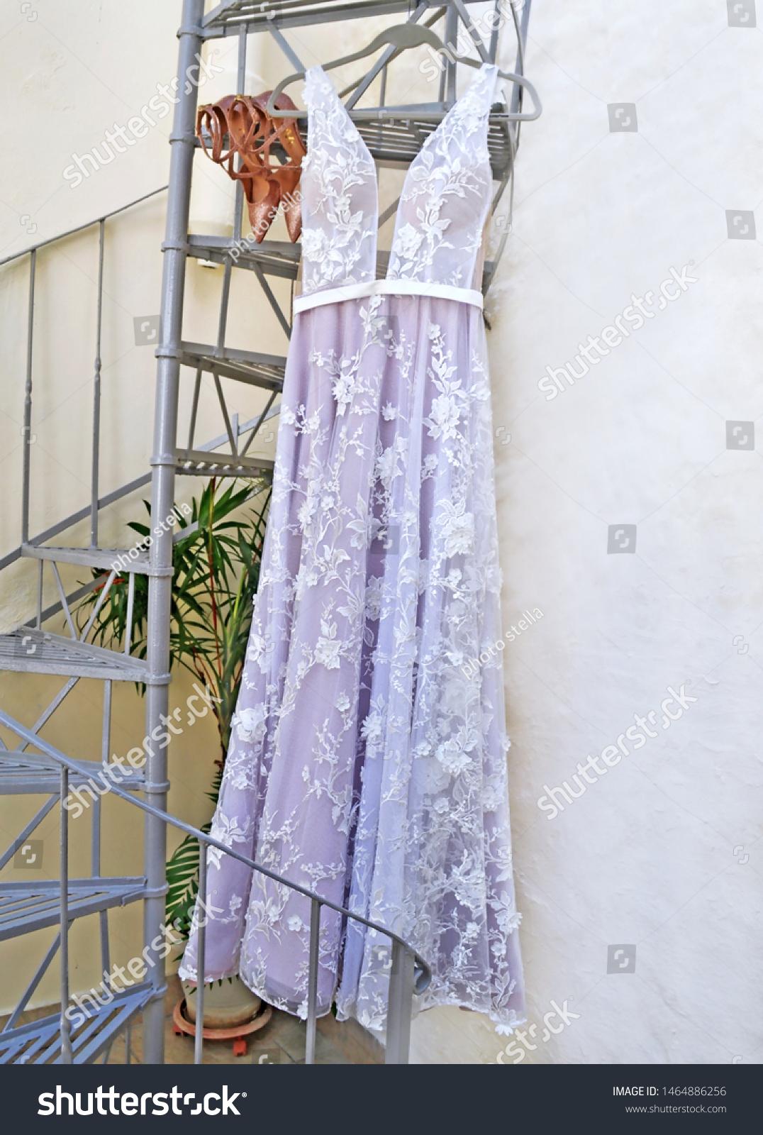 Still Life White Wedding Dress Wedding Stock Photo Edit Now
