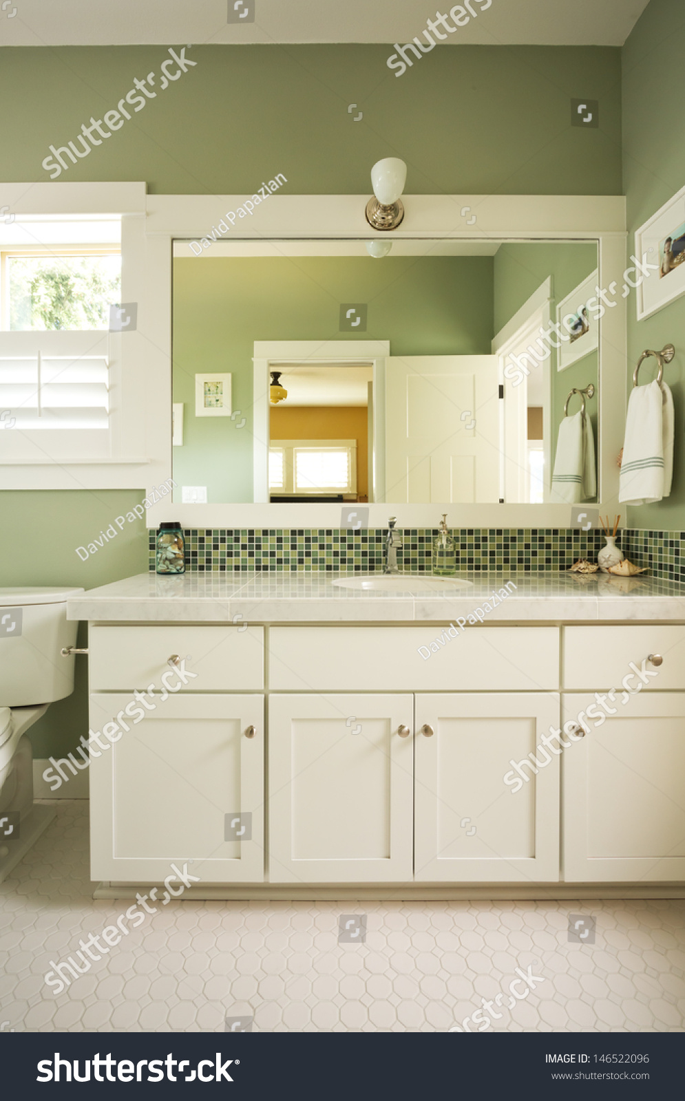 Custom Master Bathrooms bathroom vanity mirrorvertical shot custom master stock photo