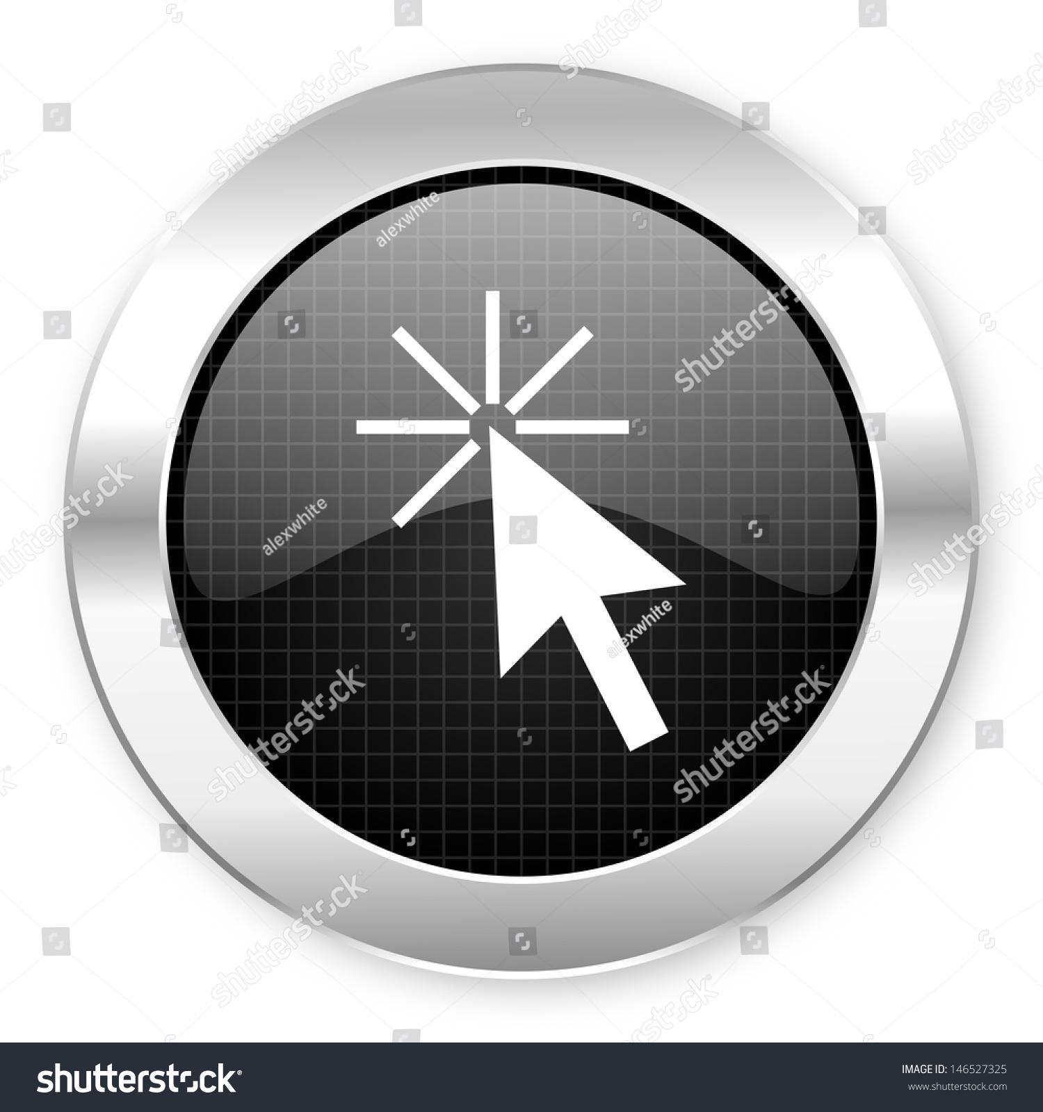Click Here Icon Stock Photo 146527325 : Shutterstock