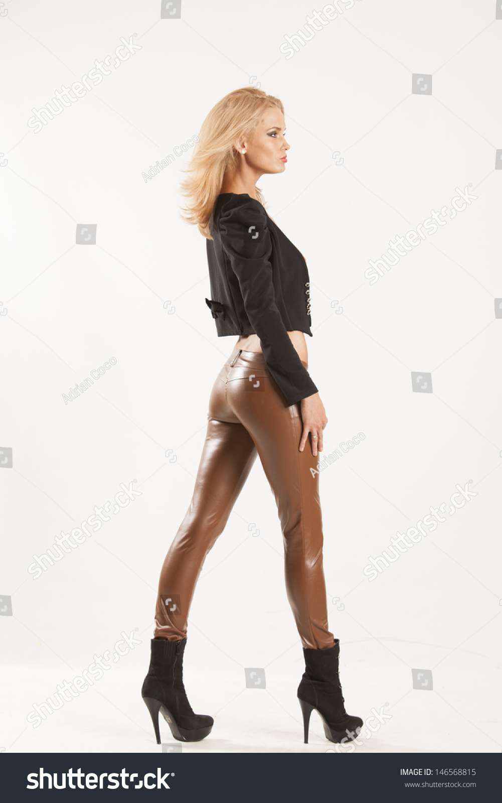Blonde Pants 14