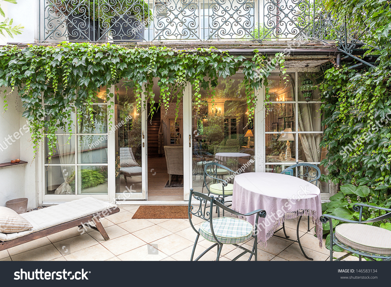 vintage mansion cosy veranda ivy stock photo 146583134 shutterstock