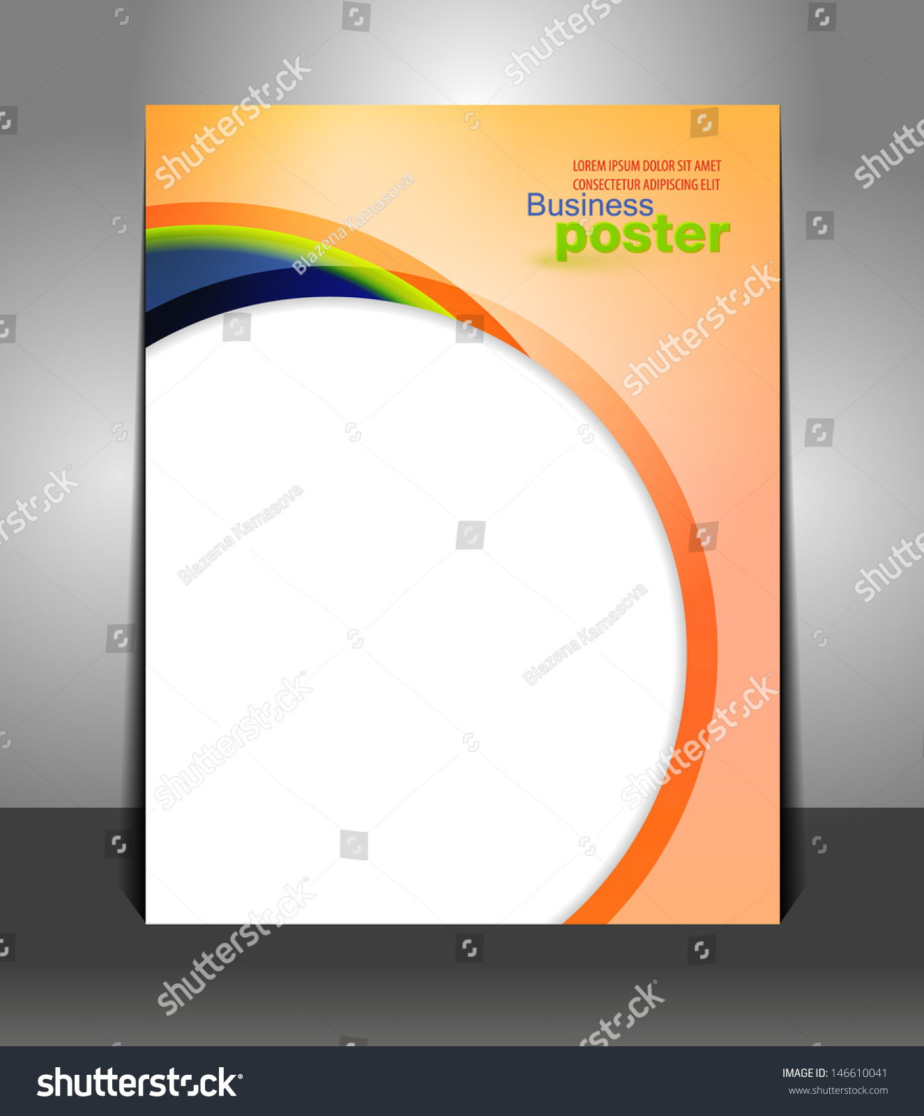 Poster design layout templates - Stylish Presentation Of Business Poster Flyer Design Content Background Design Layout Template