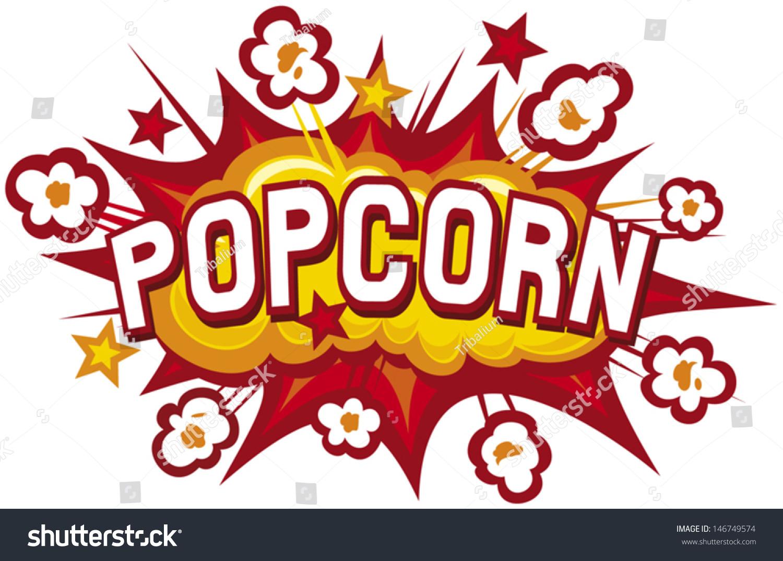 Popcorn Design Stock Vector 146749574 Shutterstock