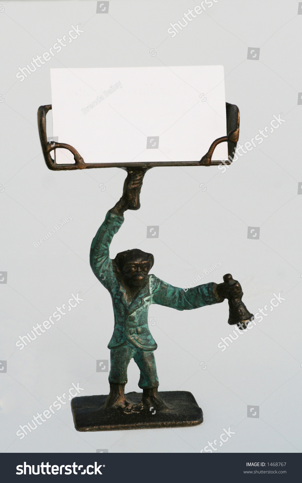 Monkey Business Card Holder Stock Photo 1468767 - Shutterstock