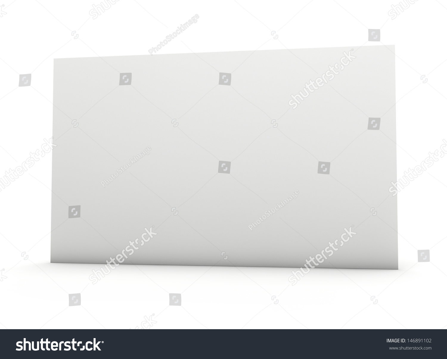 Blank Business Card Fine Paper Texture Stock Illustration 146891102 ...