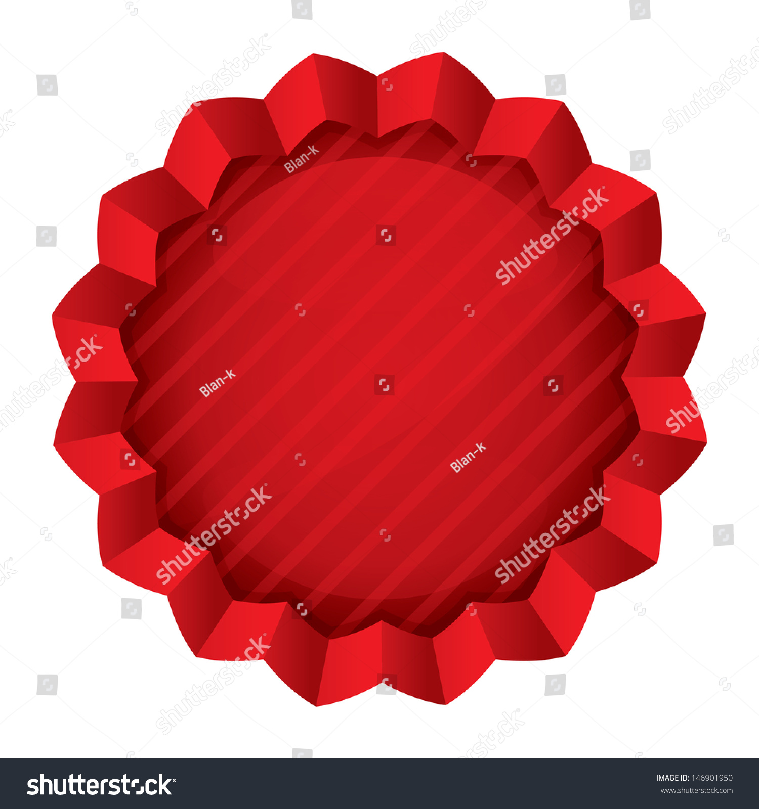 Price Tag Template Vector Red Round Vector 146901950 – Sale Tag Template
