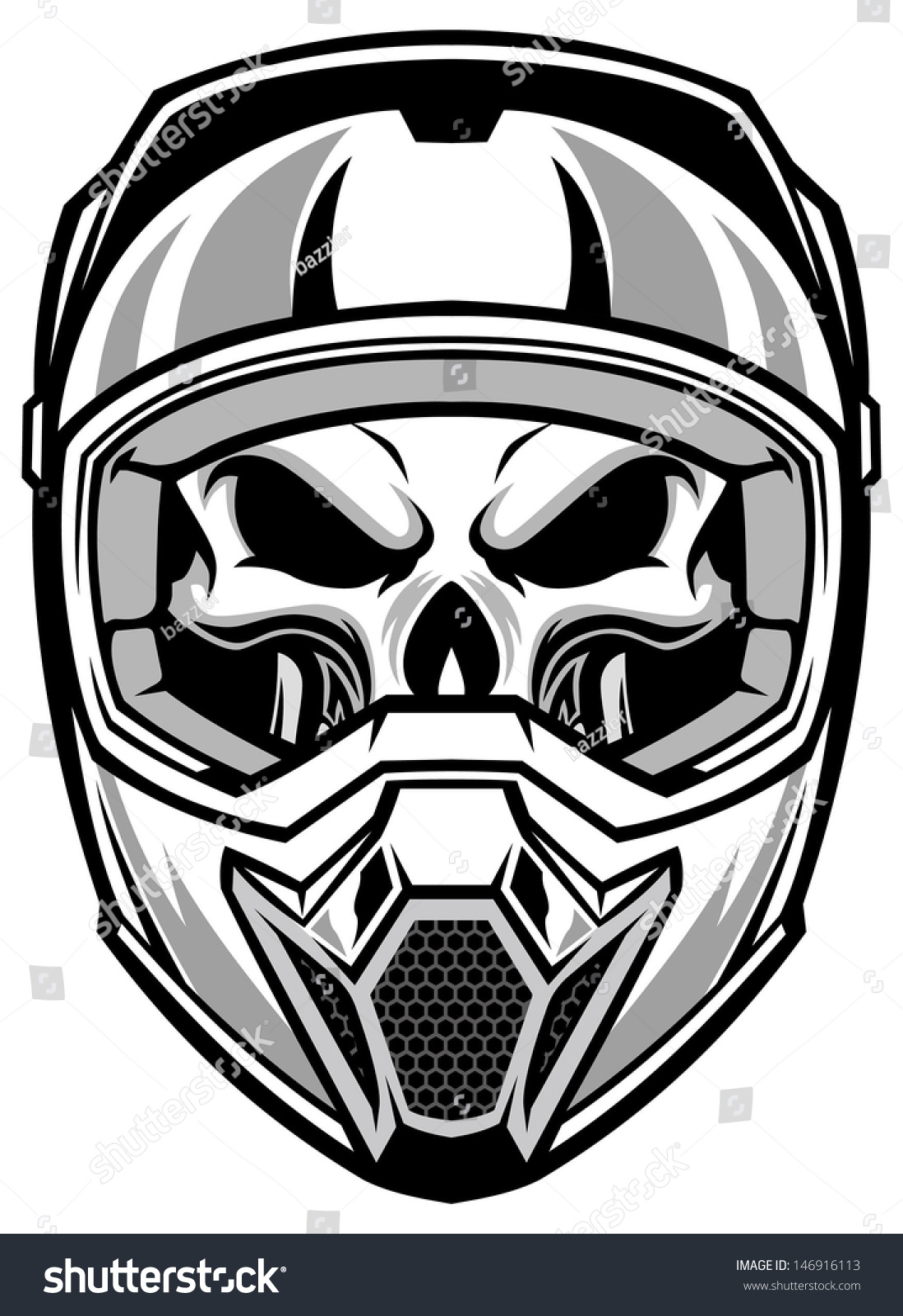 Motorcycle Race Racing Bike Speed Sports Icon Furthermore Skull