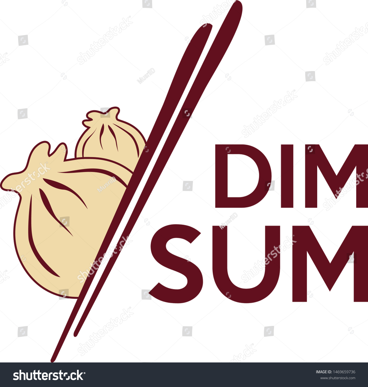 dimsum logo design your business stock vector royalty free 1469659736 https www shutterstock com image vector dimsum logo design your business 1469659736