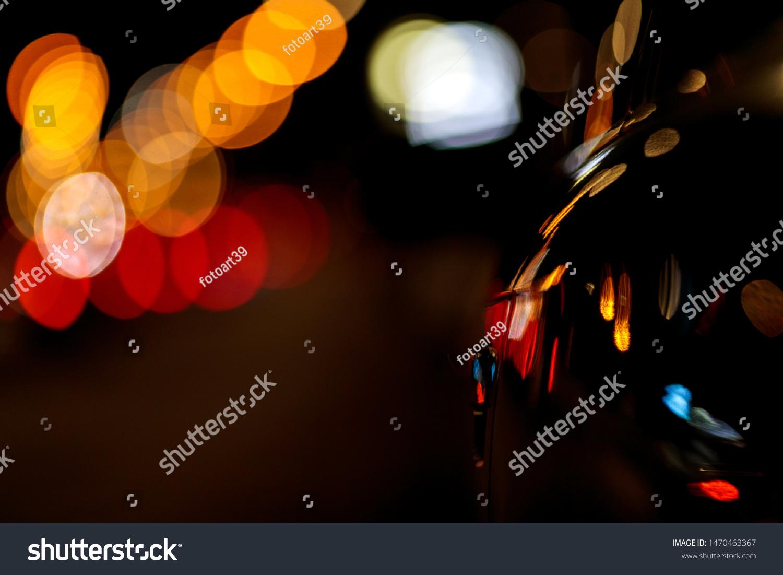 Light Reflection Bokeh Effect Car Lights Stock Photo Edit Now 1470463367