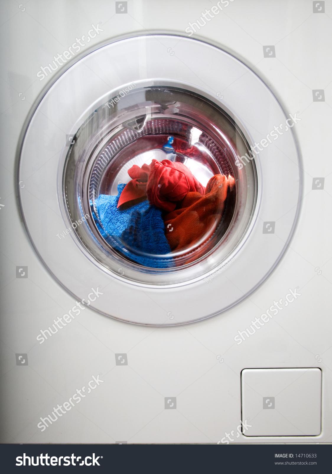 washing machine instructions on clothes
