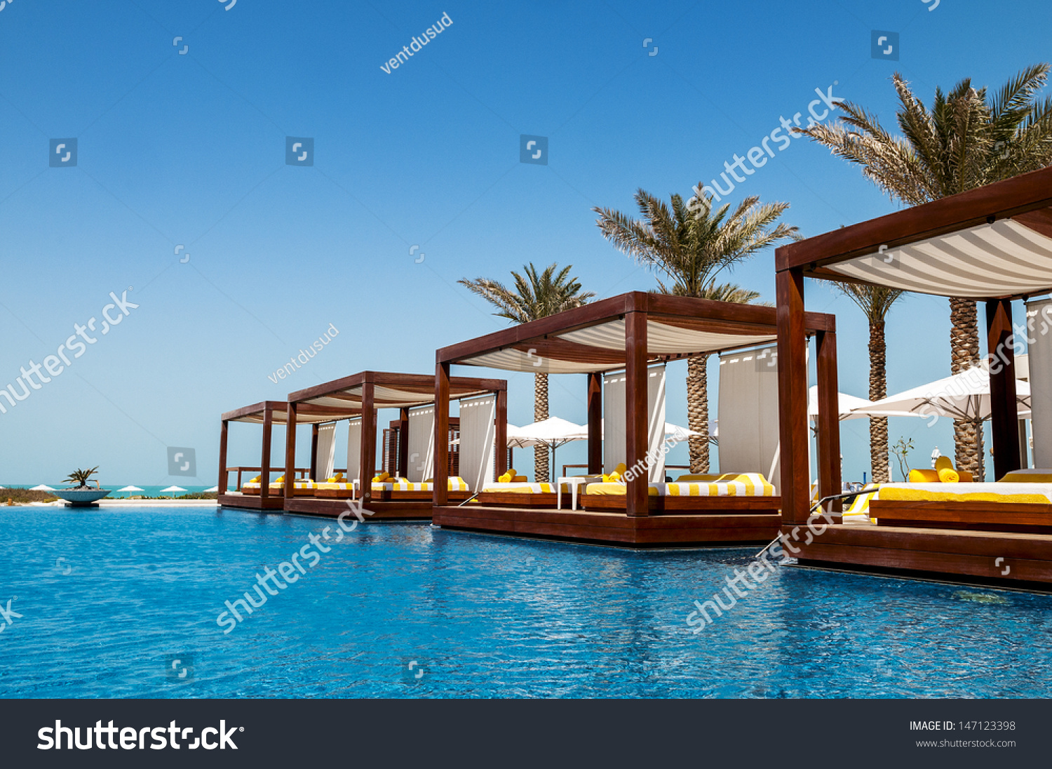 Luxury place resort and spa for vacations stock photo for Luxury places